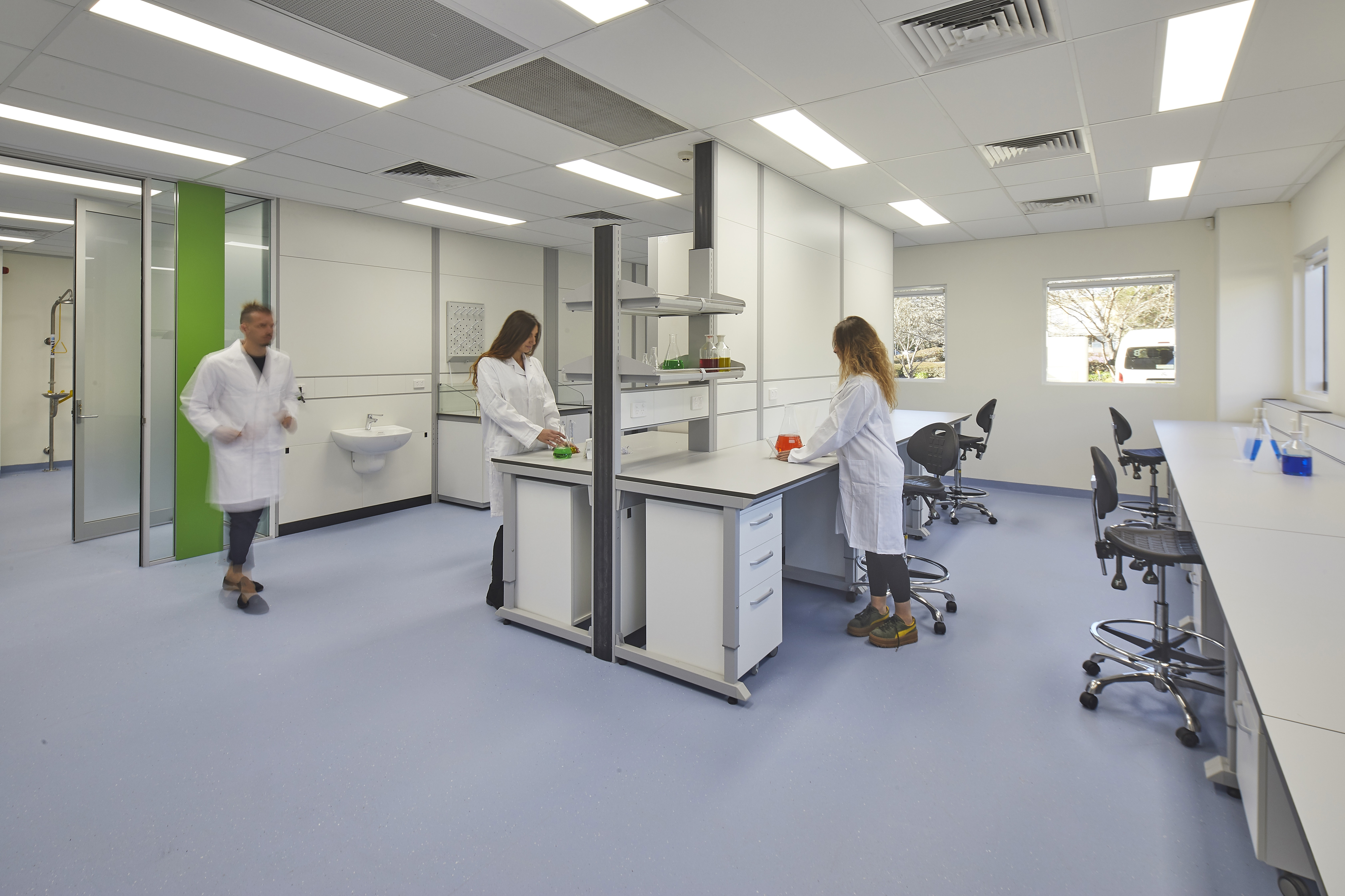 Yild STEMM Laboratory and technical spaces