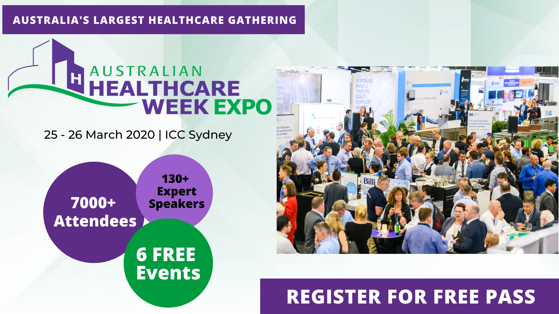 The largest healthcare event in the region - Australian Healthcare Week - Medical News