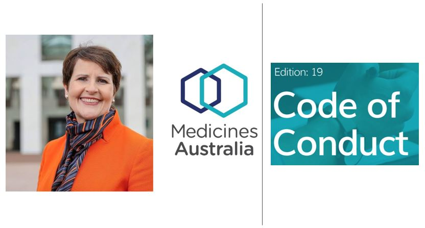 Pharma News - Medicines Australia CEO on Code of Conduct Edition 19