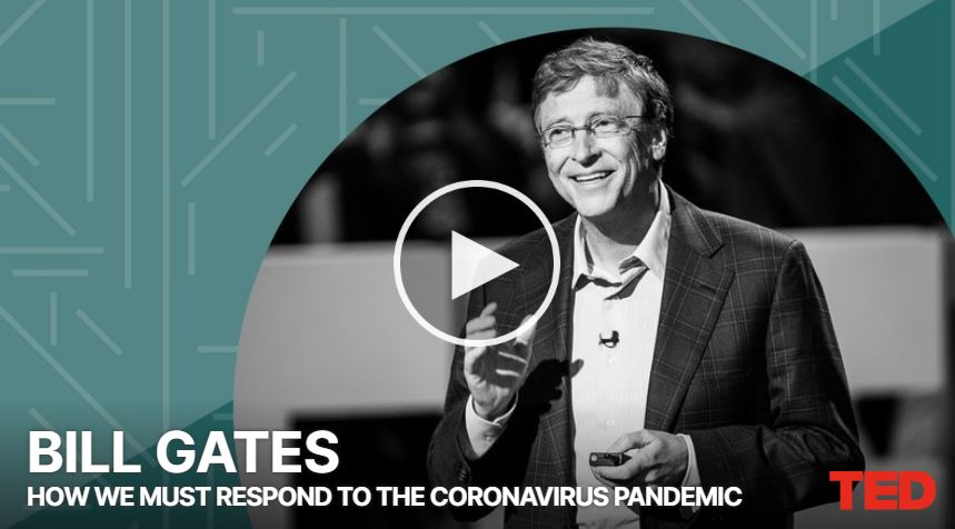Leadership & Management - Bill Gates's insights on COVID-19 global pandemic