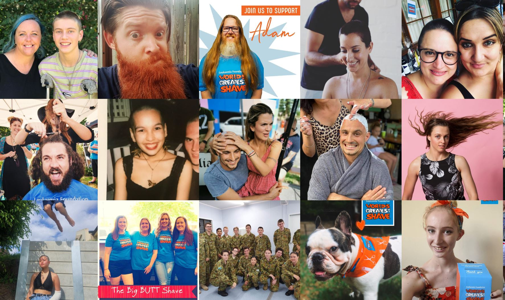Social Responsibility Community Engagement - Worlds Greatest Shave 2020 Hair today, gone tomorrow