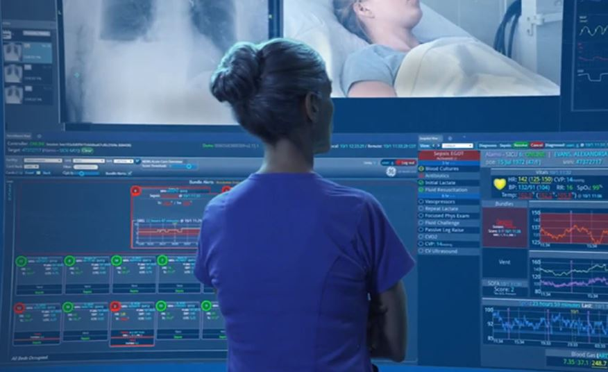 Digital and Innovation in MedTech - GE Healthcare and Microsoft deploy virtual care solution to help clinicians manage COVID-19 patients