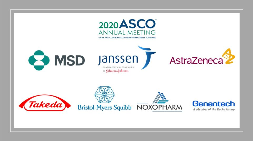 Pharma News - ASCO highlights - Janssen, Takeda, AZ, Genentech, MSD, BMS and Noxopharm