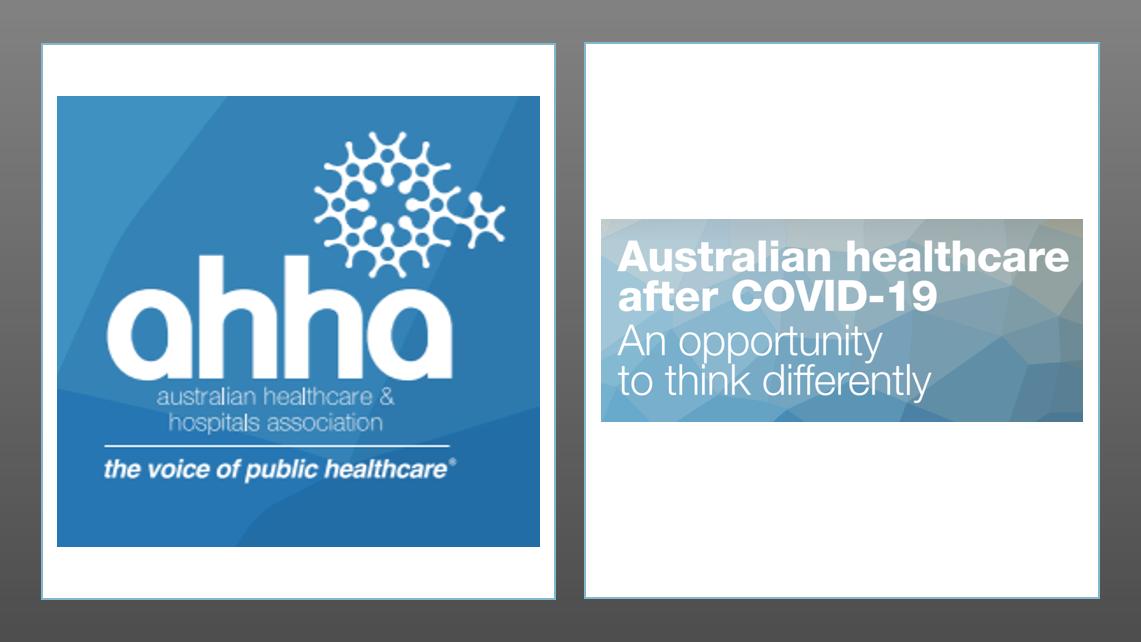 MedTech News - COVID-19: A catalyst for reimagining Australian healthcare