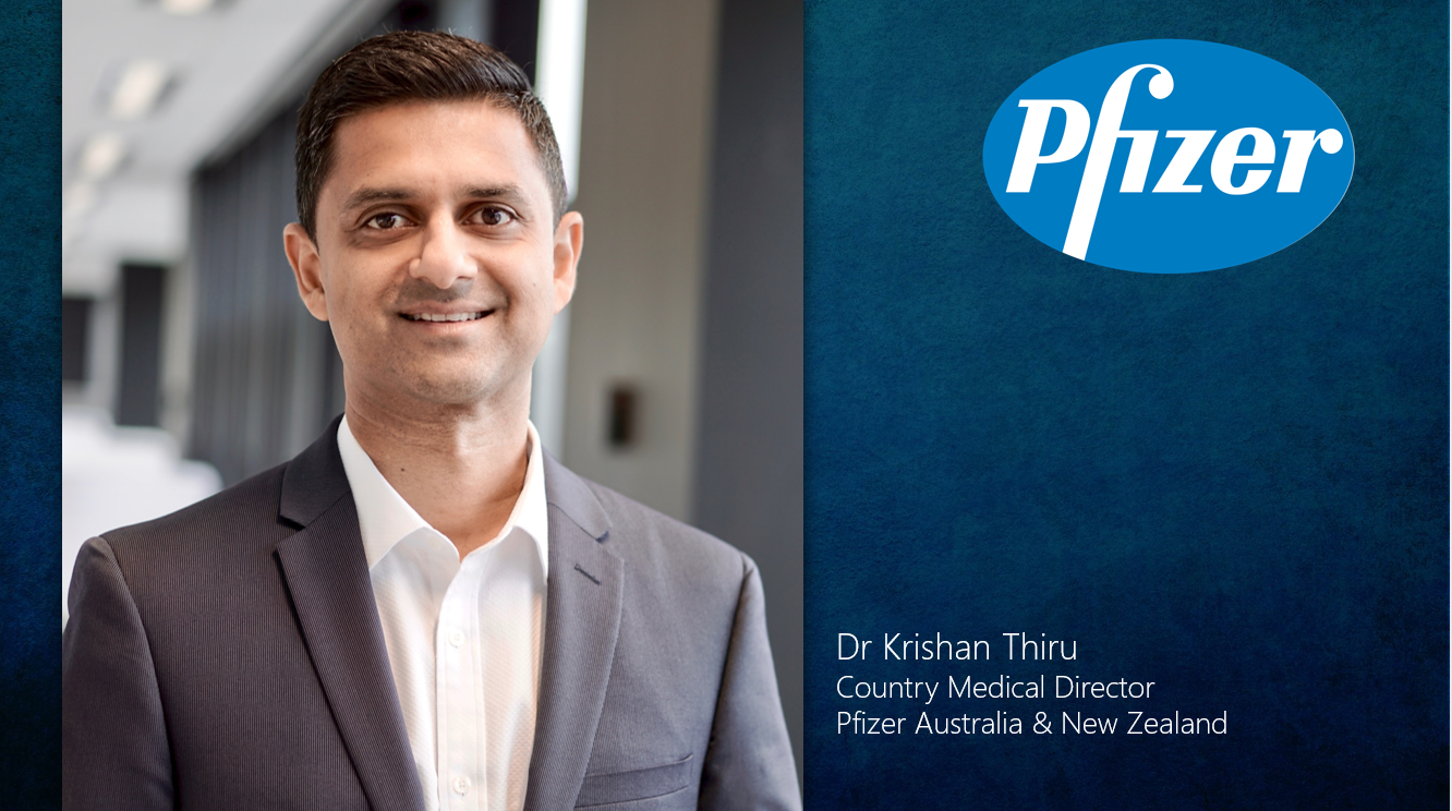 Healthcare Technology Digital Innovations - Pfizer Australia backs digital health start-ups, an interview with Country Medical Director Dr Krishan Thiru