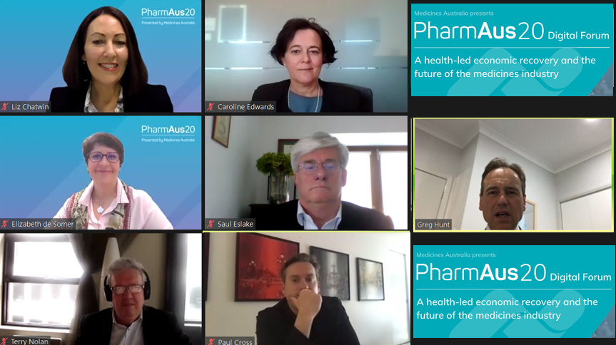 Pharma News - Critical success factors for the road to recovery - Medicines Australia PharmAus20