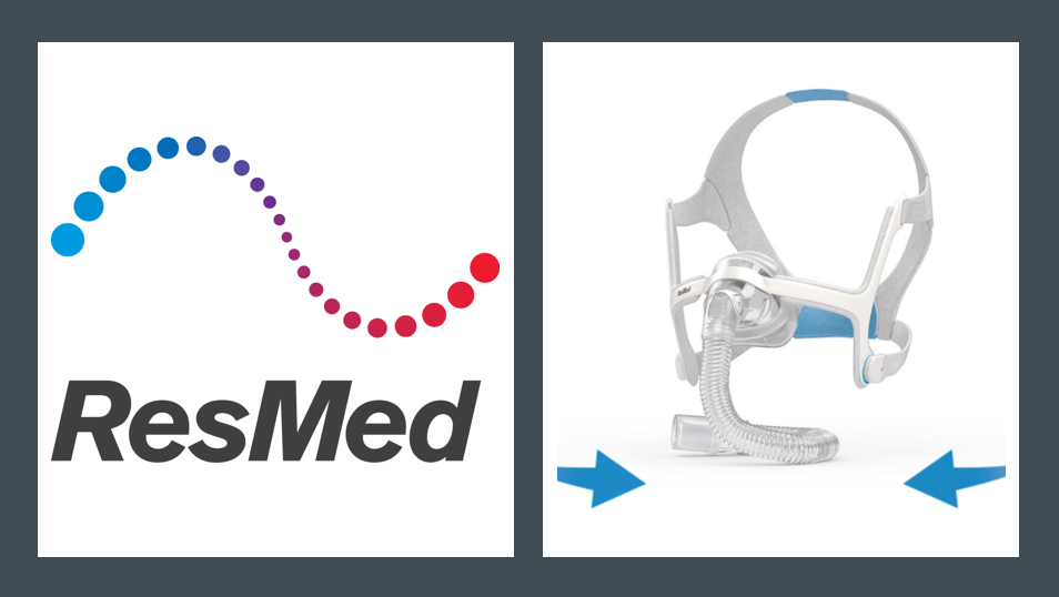 MedTech News - ResMed launches first CPAP nasal mask with memory foam cushion
