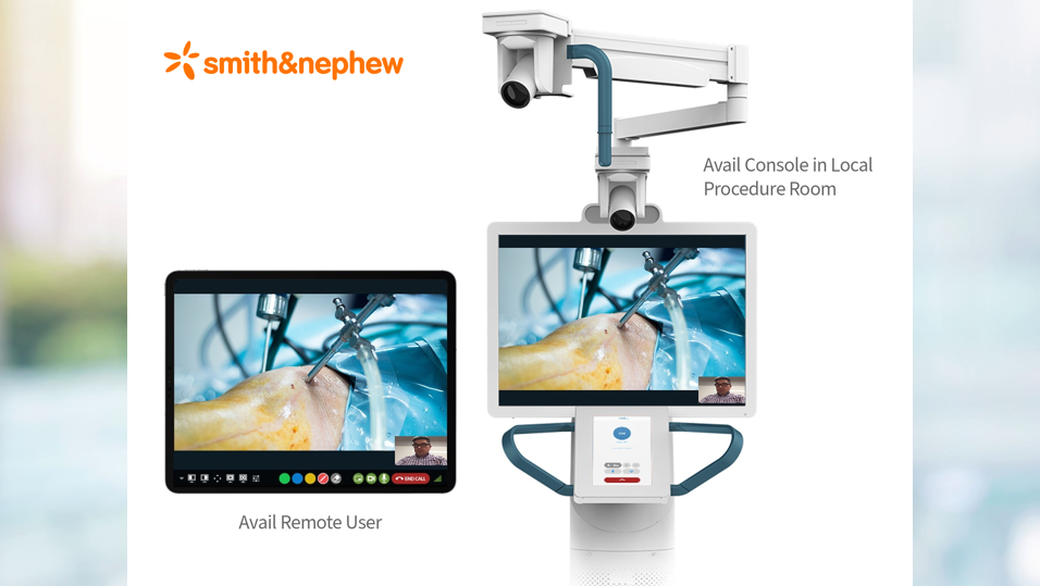 MedTech News - Smith+Nephew delivers remote procedural support in the operating room