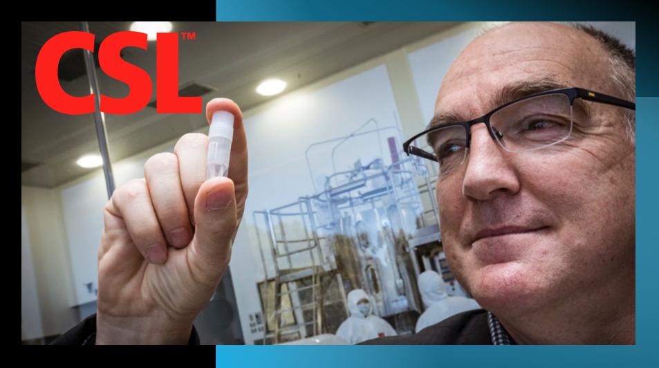Biotechnology News - CSL - Oxford/AstraZeneca Vaccine Manufacturing