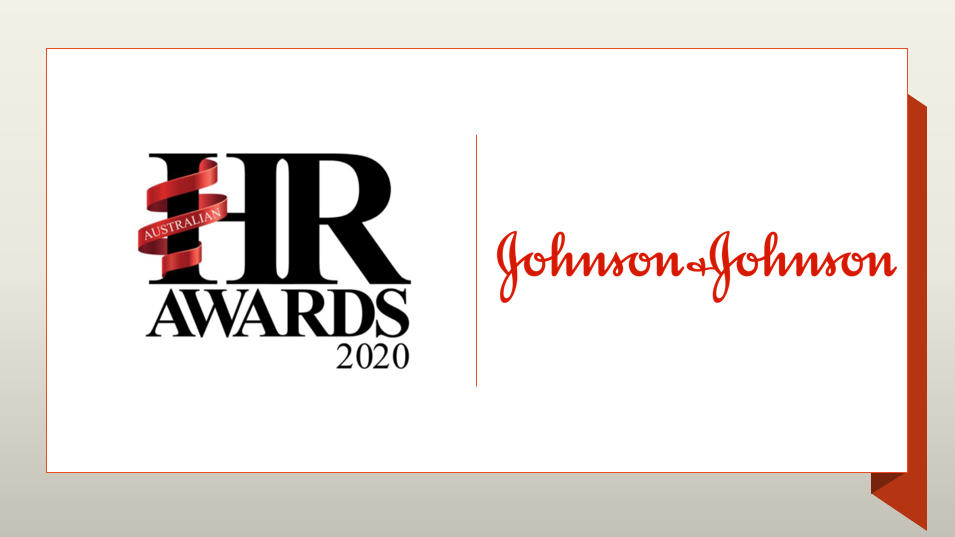 Human Resource Management - J&J the only healthcare winner of Australian HR Awards