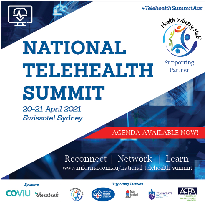 Informa Telehealth Summit - Health Industry Hub supporting partner