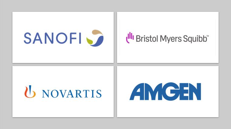 Pharma News - Sanofi, Amgen, BMS and Novartis welcome new/amended PBS listings