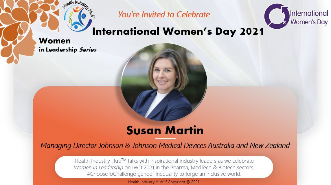 Leadership Management Qualities - J&J's Managing Director Susan Martin talks courage, compassion and communication on International Women's Day