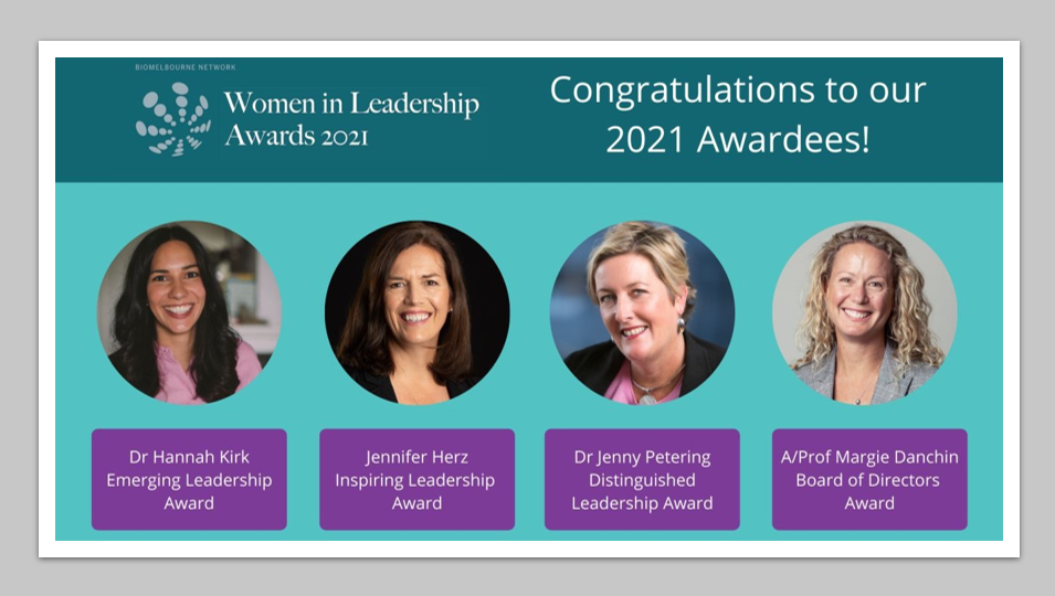 Leadership Management Qualities - Dynamic women awarded for outstanding contributions to the health industry