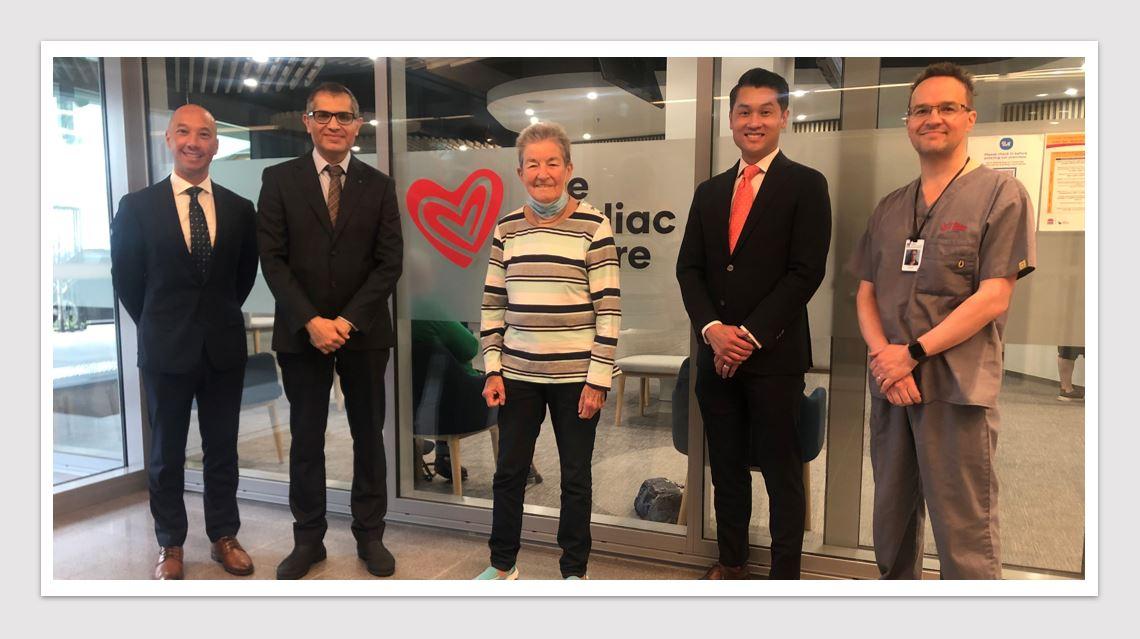 MedTech News - Private-public partnership facilitates Illawarra region's first cardiac surgeries